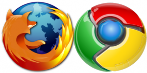 Firefox & Chrome